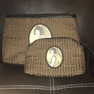 clutch and wristlet set